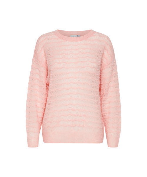 Ichi Ihnevelin Is pullover silver pink