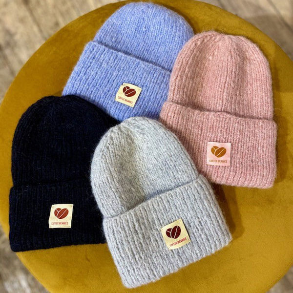 Coffee beanies The sky beanie lyserød