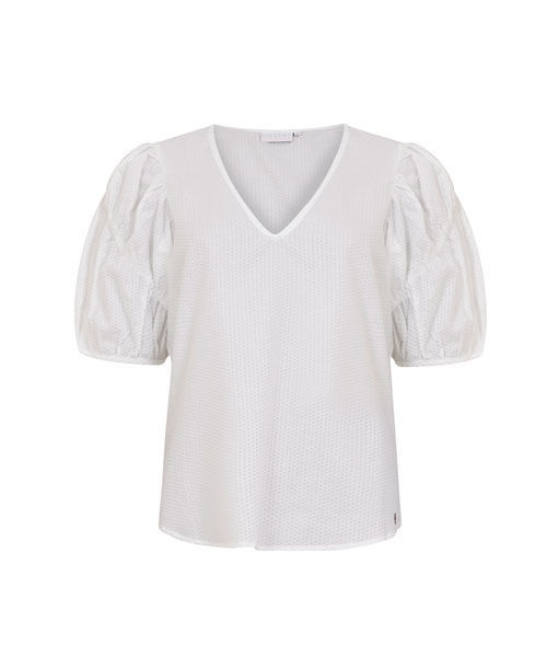 Coster copenhagen blouse in bubble qaulity with volume qaulity