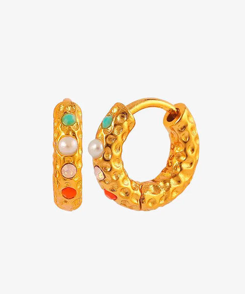 Hultquist Florence coloured hoops