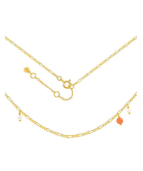 HULTQUIST CORAL CLIFF NECKLACE