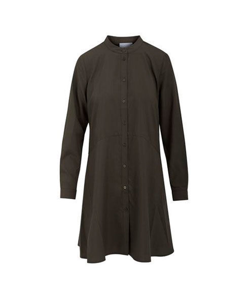 Billede af COSTER COPENHAGEN 215-1513 TUNIC WITH LONG SLEEVES AND CUTLINE AT WAIST